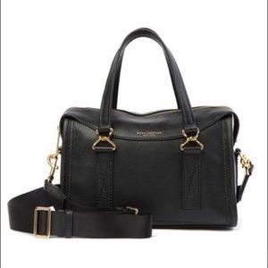 Marc Jacobs Wellington Leather Satchel Black